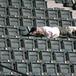 Major-League-Baseball-Fan-Sleeping