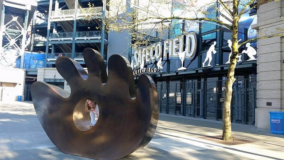 Safeco Field Baseball Chick